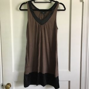 Express Dress, Brown/Black, Medium, NWOT